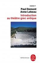 Introduction au théâtre grec antique