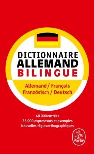 Dictionnaire de poche allemand bilingue
