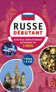 Coffret russe débutant livre + 5 CD
