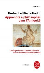 Apprendre à philosopher dans l'antiquité-inédit