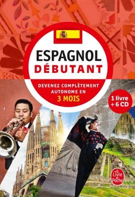 Coffret espagnol débutant livre + 6 CD