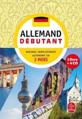 Coffret allemand débutant livre + 4 CD