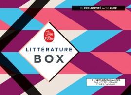 BOX LITTERATURE LIVRE DE POCHE