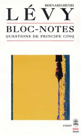 Bloc-notes (Questions de principe 5)