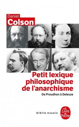 Petit Lexique philosophique de l' anarchisme- Inédit