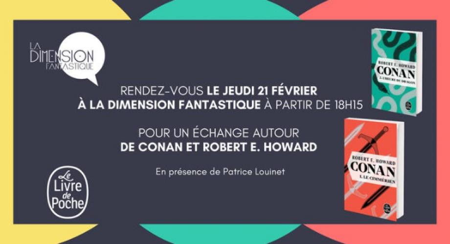Rencontre Autour De Conan Et Robert E Howard Livre De Poche